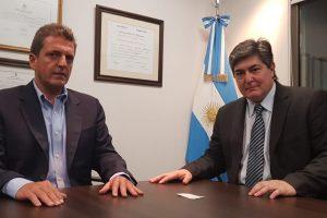 Lanziani se reunió con Massa en Buenos Aires