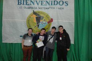 Misionero se lució en la olimpiada regional Matemática Argentina