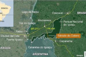 Brasil: buscan reabrir la «Estrada do colono» la ruta que atraviesa el Parque do Iguaçu