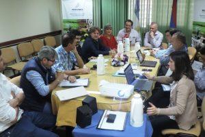 Arce se reunió con el ministro del Agro para interiorizarse de los planes en marcha
