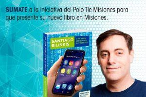 El Polo Tic quiere que Santiago Bilinkis presente su libro en Posadas