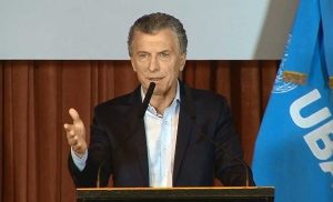 Macri: «El futuro lo vamos a construir integrados al mundo, y no aislados»