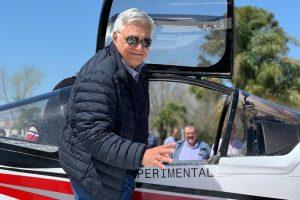 El empresario misionero que se asoció con un piloto de Malvinas y construirá aviones livianos «made in Argentina»