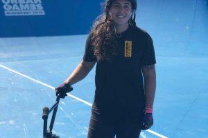 Con mate en mano, Analía Zacarías busca llegar a Tokio 2020