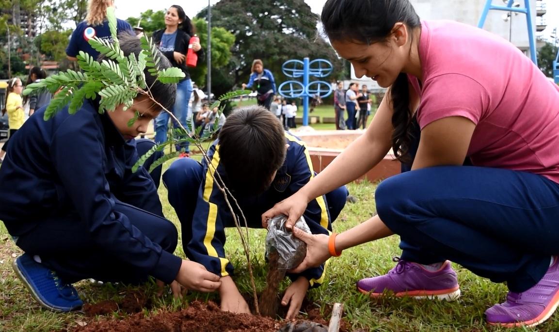 La Municipalidad lleva plantados más de 12.000 árboles este año