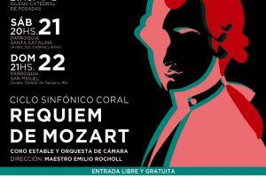 El Requiem de Mozart recorrerá parroquias de Posadas