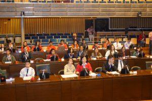 Parlamento Estudiantil: Jóvenes sancionan iniciativas que pueden resultar en políticas públicas