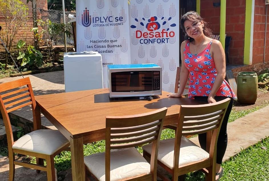 Desafío Confort premió a emprendedora de Puerto Rico