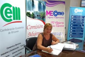 CAME destacó a una empresaria misionera en su sección «Mujeres que inspiran»