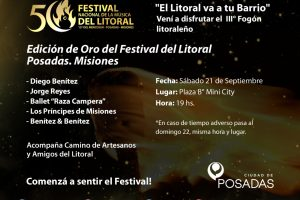 """El """"Fogón Litoraleño"""" desembarcará el próximo sábado en el barrio Mini City"""