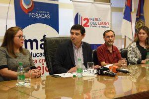 Losada presentó la segunda edición de la Feria del Libro Posadas