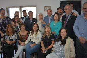 Inmobiliarios homenajearon a «Donso» Solari