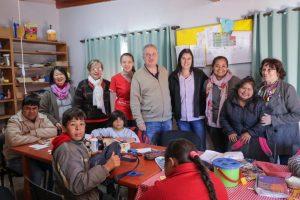 Passalacqua visitó el centro Amigos del Ciego de Oberá