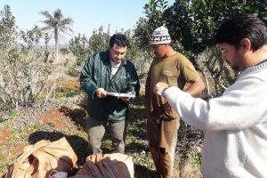 El RENATRE fiscalizó a más de 1550 trabajadores rurales en 16 provincias