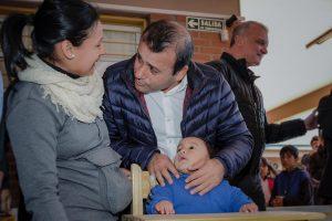 Herrera Ahuad acompañó las actividades del El PAS en el barrio Néstor Kirchner