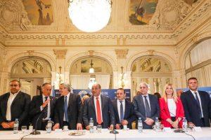 Alberto Fernández reunió a empresarios y CGT en Tucumán
