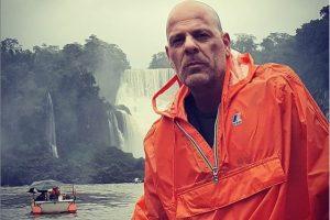 ¿Bruce Willis en las Cataratas del Iguazú?