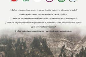 Eldorado recibirá un Conversatorio sobre cambio climático