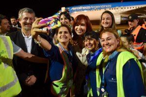 Una multitud recibió a Cristina en Posadas