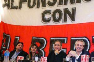 Closs cenó con Fernández y los radicales alfonsinistas