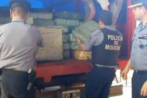 Marihuana incautada en Paraje Cuatro Bocas arrojó un total de 4.450 kilogramos