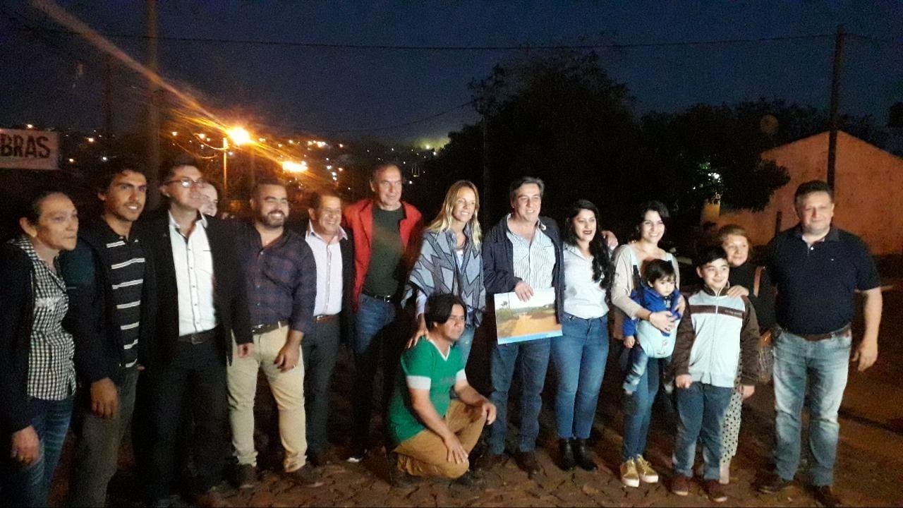 Entregan obras de Promeba en Iguazú