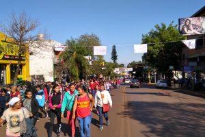 Misiones no quedó exenta de protestas en la jornada nacional de acampe
