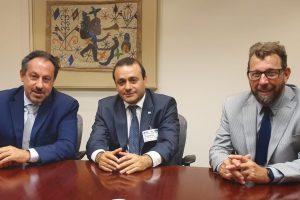Herrera Ahuad se reunió con  el director del BID para avanzar en programas de financiamiento