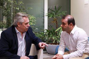 Herrera Ahuad habló con Alberto Fernández  sobre la realidad de Misiones en zona de frontera