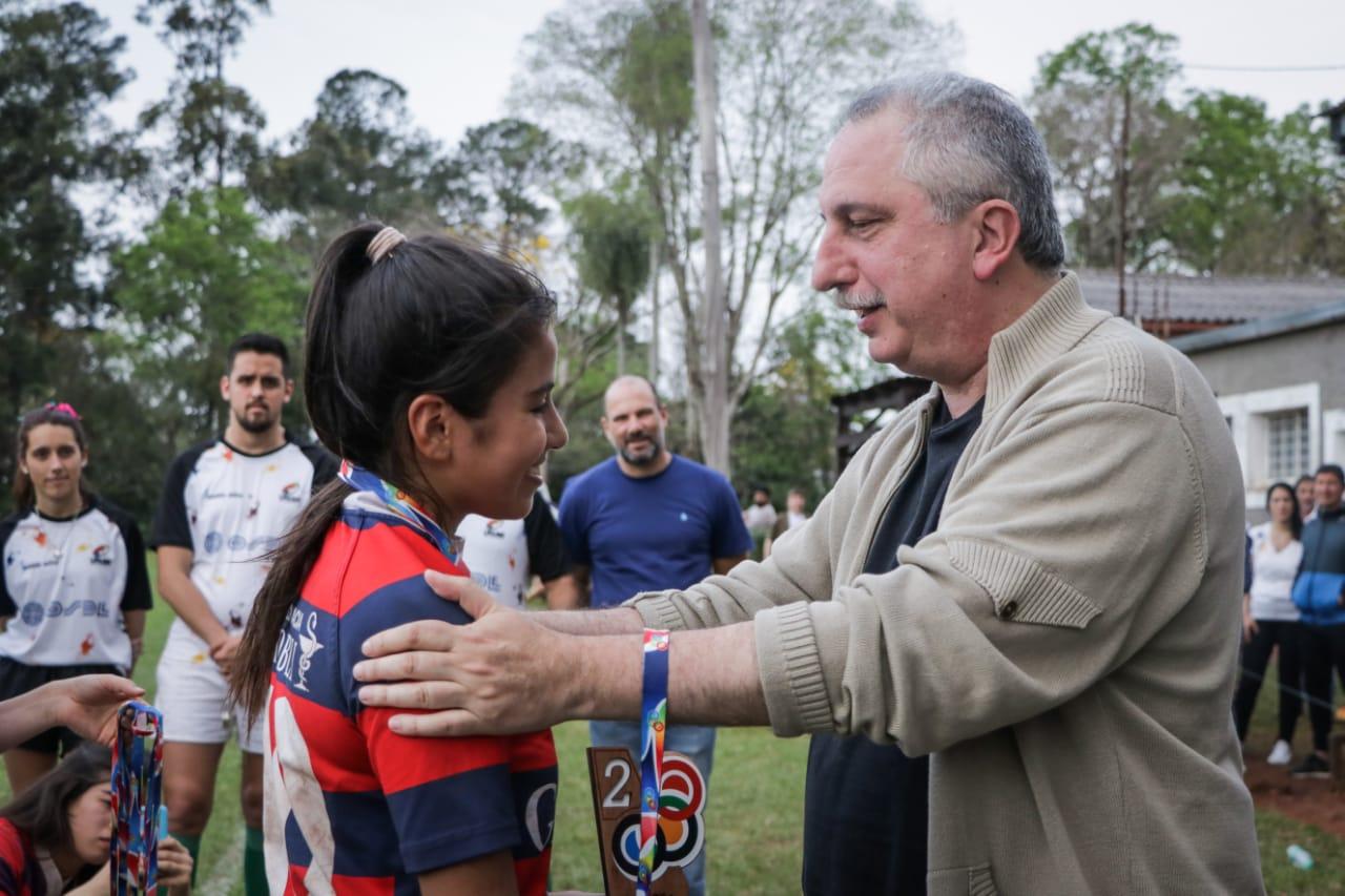 «Con el deporte se construye un tejido social más sólido», remarcó Passalacqua