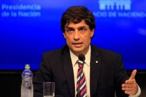 """Lacunza: «El dinero del FMI se utilizó para pagar deuda"""""""