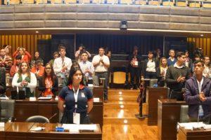 «Yo quiero ser Presidente», el deseo en primera persona expresado en el Parlamento Estudiantil