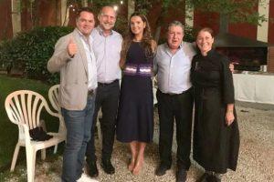 Puerta celebró su cumpleaños en España con el Gobernador electo de Santa Fe