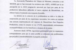 APTM denuncia que hijos de tabacaleros dejaron de percibir la AUH