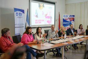 Arce presentó las actividades del IPS para la prevención del cáncer de mama