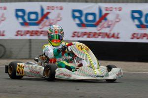 Chicho Grimaldi, décimo en Italia por el campeonato mundial