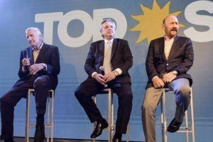Alberto Fernández volvió como candidato al PJ y llamó a «poner en marcha» al país