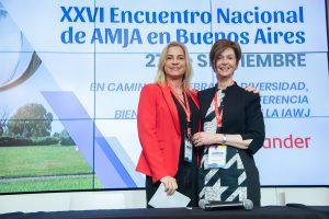 La ministra del STJ misionero, Cristina Leiva participó del Encuentro Nacional de AMJA