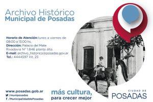 El Archivo Histórico de Posadas cuenta con más de 15.000 documentos digitalizados