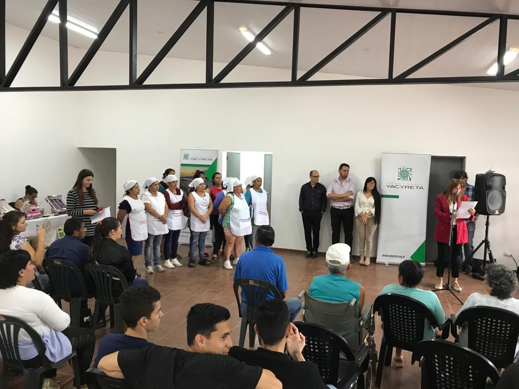 La EBY habilitó CDF en el Barrio Yohasá de Posadas