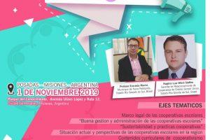 Se realizará en Posadas en congreso internacional de cooperativas escolares del Mercosur