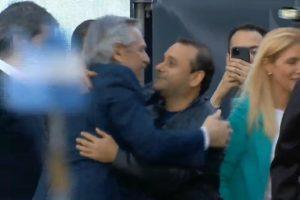 «El abrazo de la esperanza», dijo Herrera Ahuad de su encuentro con Alberto Fernández