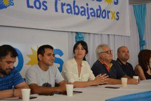 Brítez se reunió con los representantes de los trabajadores misioneros