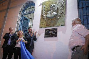 Passalacqua participó de la inauguración del salón «San Martín-Enrique Federico Gentiluomo»
