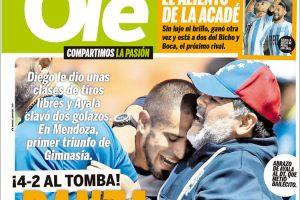 Las tapas del domingo: Borrador entre la UIA y la CGT y el primer triunfo de Diego en Gimnasia