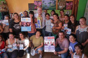 Passalacqua se reunió con emprendedoras de Posadas
