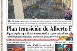 Las tapas del domingo: Macri y una multitud en el Obelisco, la protesta y el malestar en Chile