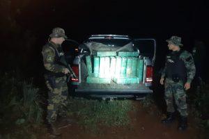Prefectura decomisó un cargamento de más de una tonelada de marihuana