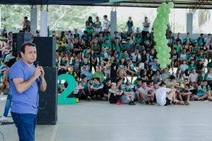 En Candelaria, Herrera Ahuad habló de «la continuidad de estas políticas para los jóvenes»