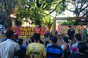 El Frente de Izquierda tuvo su cierre de campaña en Eldorado